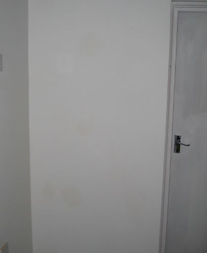 plasterboard around a rood removal