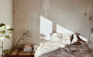 shabby chic bedroom, distressed